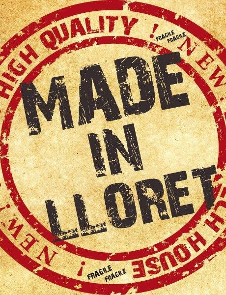 Made in Lloret stamp