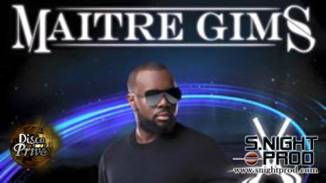 Maitre Gims at Disco Prive Lloret