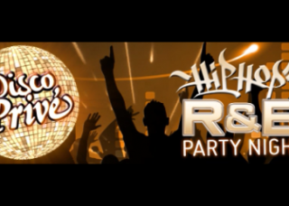 Rythm & Blues party at Disco Prive in Lloret de Mar (Spain)