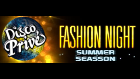 Fashion night at Disco Prive in Lloret de Mar