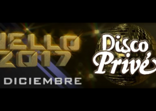 New Years Eve 2017 at Disco Prive in Lloret de Mar
