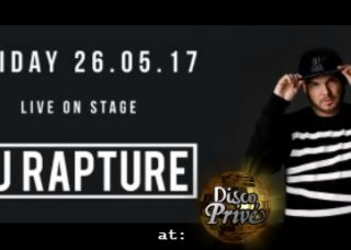 Dj Rapture at Disco Prive Lloret