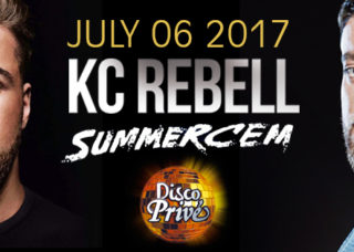 KC REBELL and SUMMERCEM at Disco Prive LLoret de Mar July 6th 2017